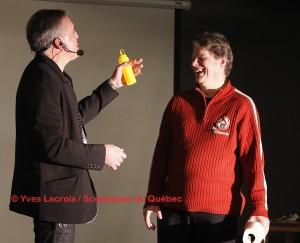 Conférences! Explication du magicien, Robert Kurylo, le pickpocket professionnel en spectacle et animation à Montréal, Québec, Canada